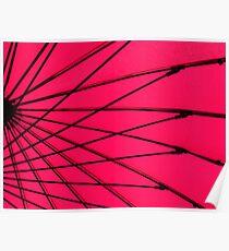 Christine's Pink Umbrella Poster