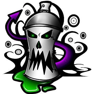 Graffiti Wraith Design by XephToons