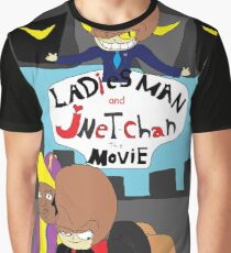 Ladies Man and Jnet Chan The Movie Graphic T-Shirt