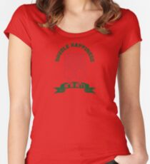 Double Happiness Series - Female & Female Women's Fitted Scoop T-Shirt