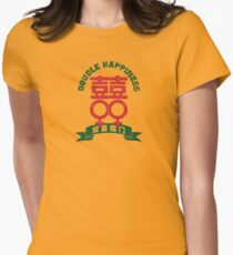 Double Happiness Series - Female & Female Womens Fitted T-Shirt