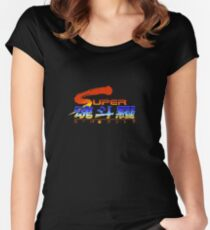 Super Contra Japanese Open Title Women's Fitted Scoop T-Shirt