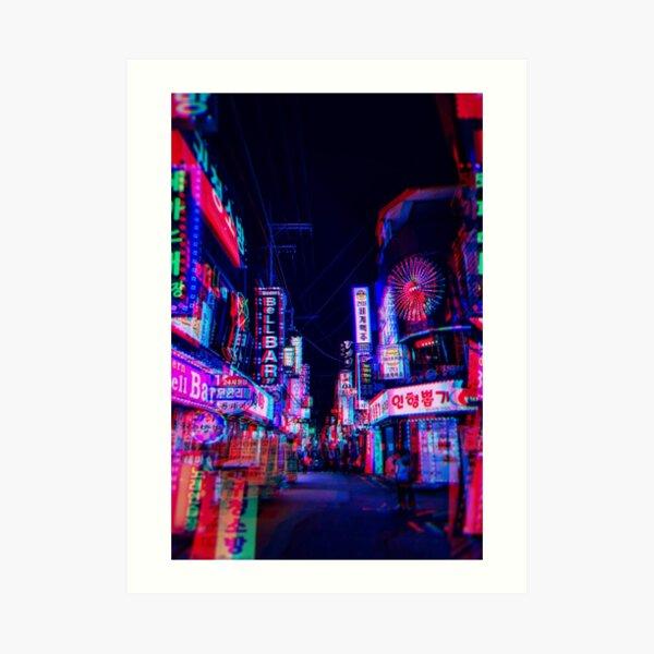 lsd nights Art Print