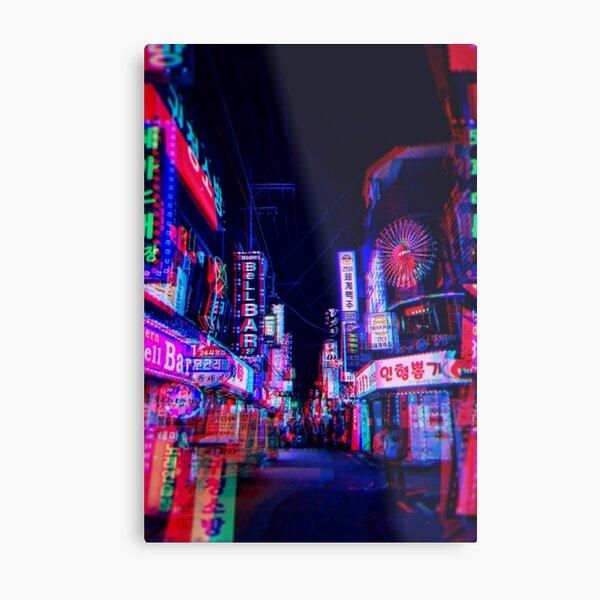 lsd nights Metal Print