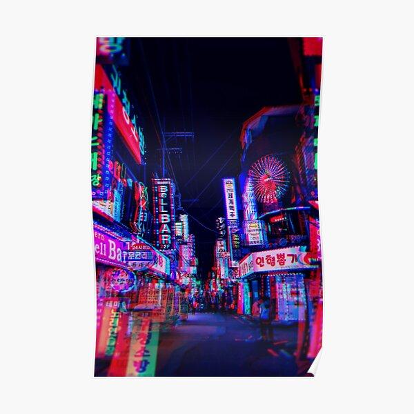 lsd nights Poster