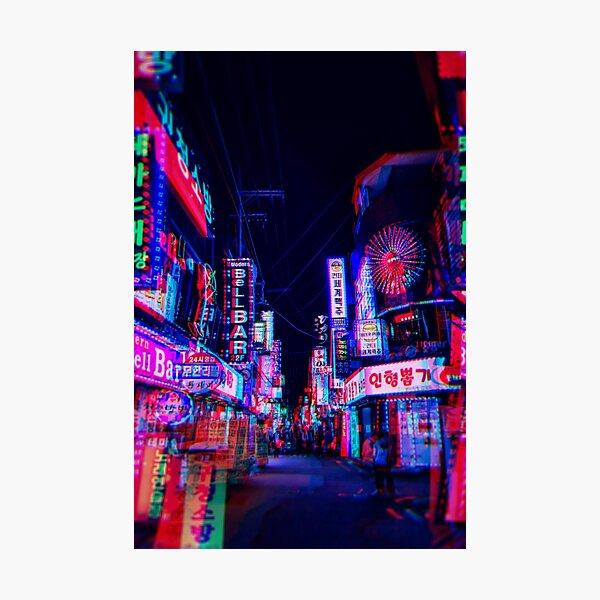 lsd nights Photographic Print