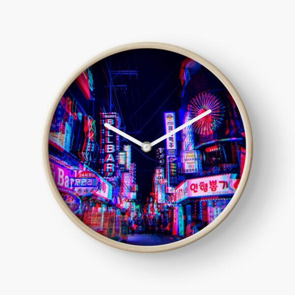 lsd nights Clock