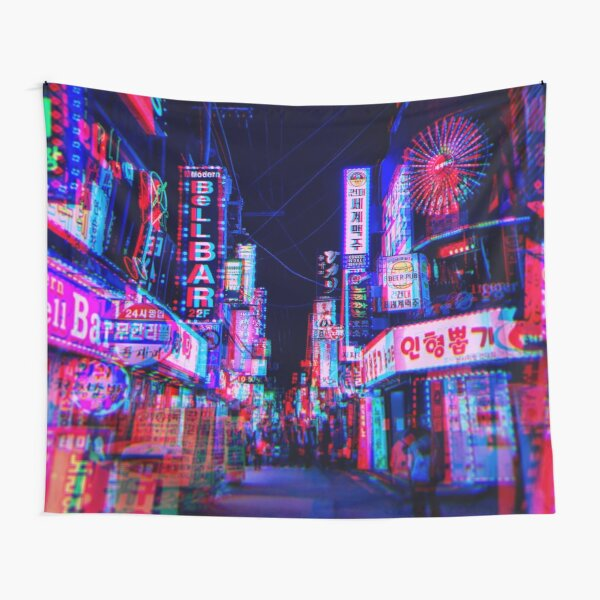 lsd nights Tapestry