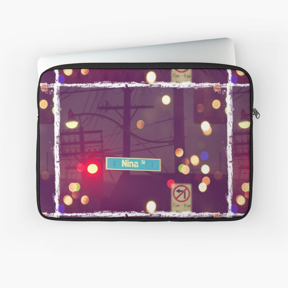 Nina street  Laptop Sleeve