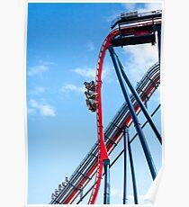 Rollercoaster Fun Poster