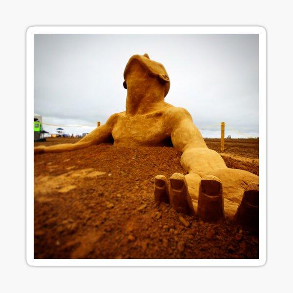 Sand Man Sticker