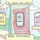 Beer Anywhere | Øl hvor som helst by Gina Lorubbio
