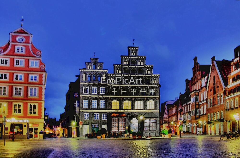 Lüneburg City by EroPicArt