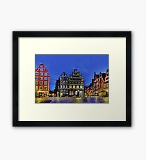 Lüneburg City Framed Print