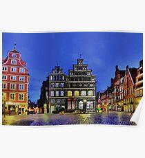 Lüneburg City Poster