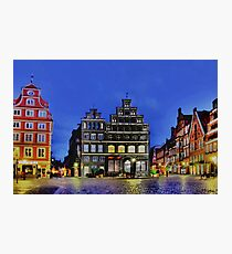 Lüneburg City Photographic Print