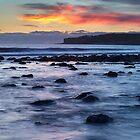 Coastal Sunset by Heidi Stewart