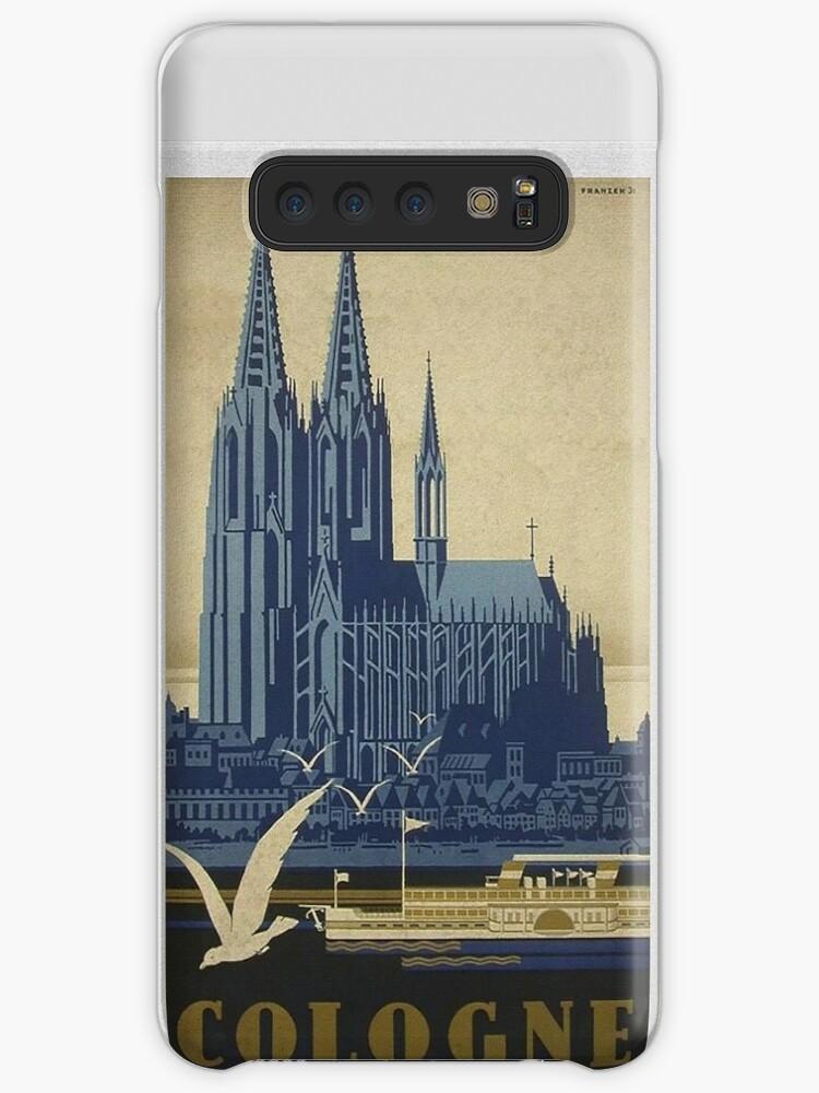 Weinlese-Köln-Reise-Plakat von edsimoneit