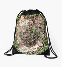 who who Drawstring Bag