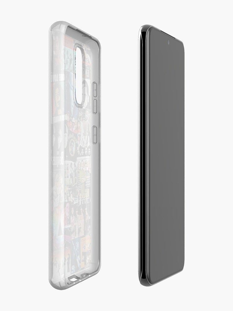 Alternate view of Rock Collage Case & Skin for Samsung Galaxy
