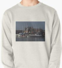 Boats and Maltings, Ipswich Wet Dock Pullover