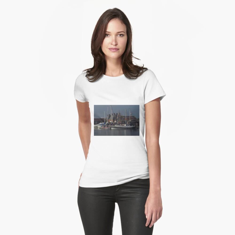 Boote und Mälzerei, Ipswich Wet Dock Tailliertes T-Shirt