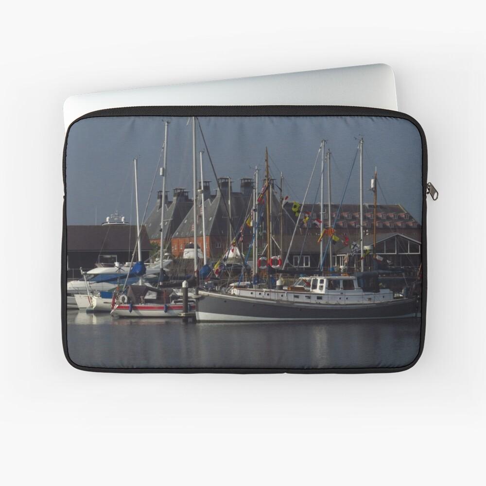 Boote und Mälzerei, Ipswich Wet Dock Laptoptasche