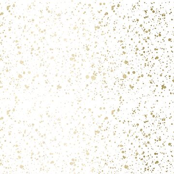 Pretty Preppy Golden Splatter Design Decor by naturemagick