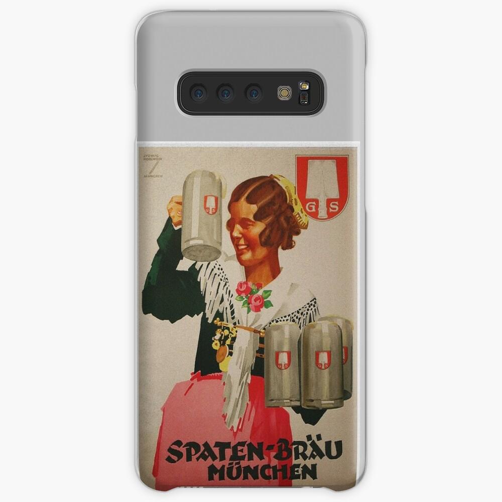 Vintage Spaten Brau Beer, Munich Samsung Galaxy Snap Case
