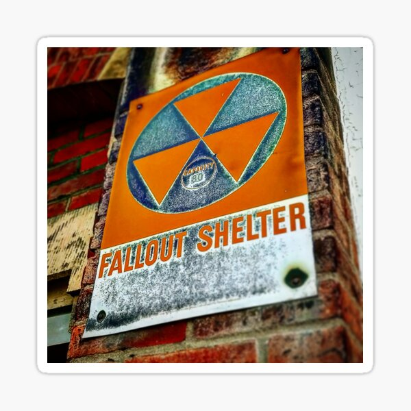 Fallout Shelter Sticker