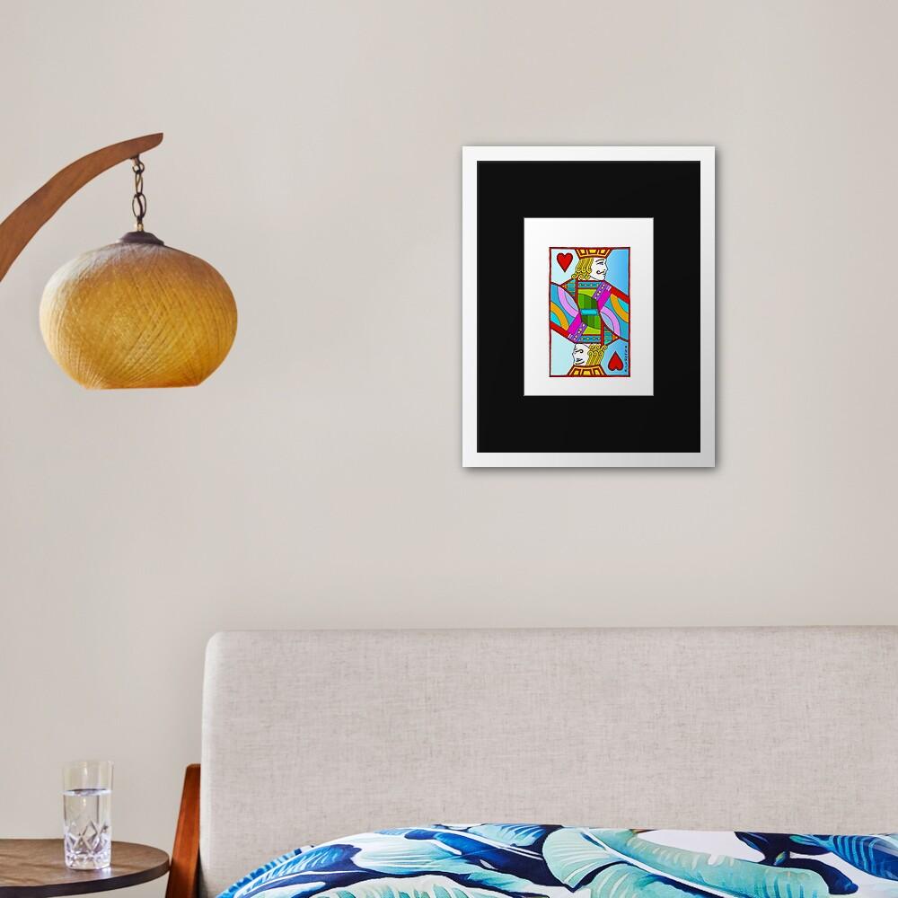 Jack of Hearts! Framed Art Print