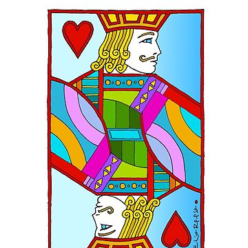 "Jack of Hearts by Eliot Raffit ""Painting Love""  by EliotRaffit"