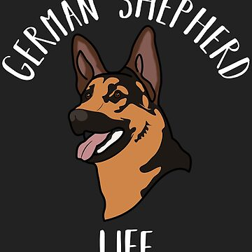German Shepherd Life Guard Police Dog K9 by ccheshiredesign