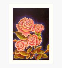 wild irish rose Art Print