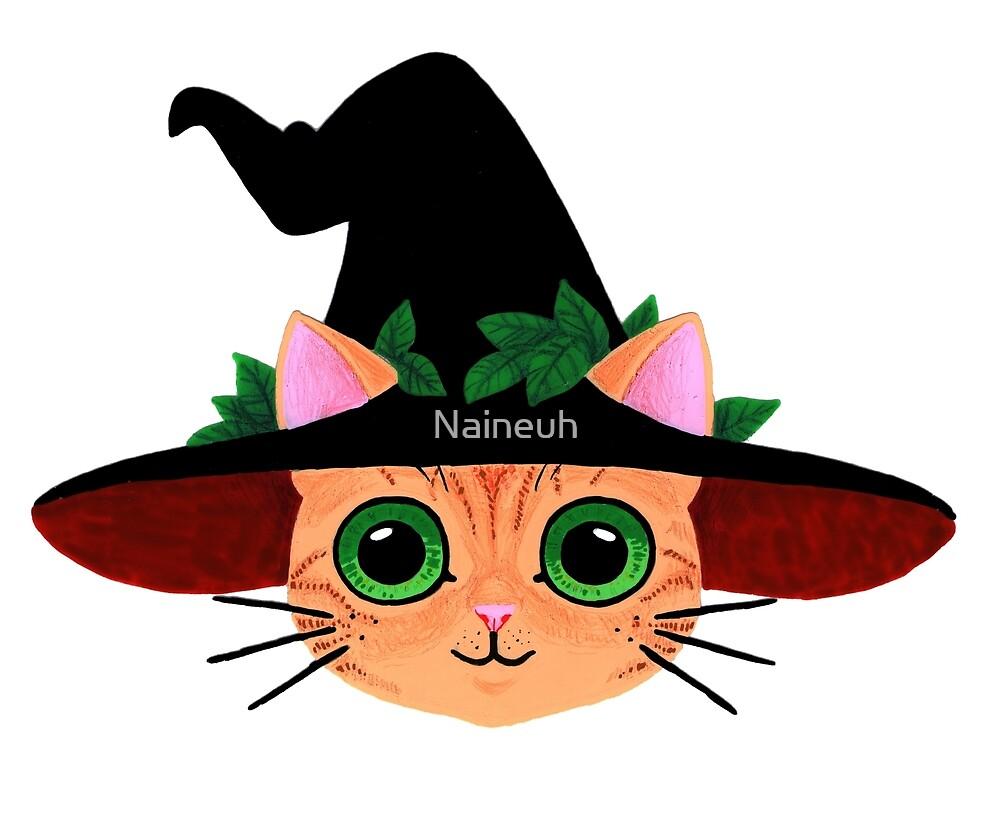 « Chat sorcier  » par Naineuh