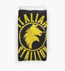 Italian Stallion Duvet Cover