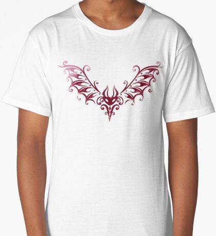 Süße Tribal Fledermaus, kleiner Blutsauger Longshirt