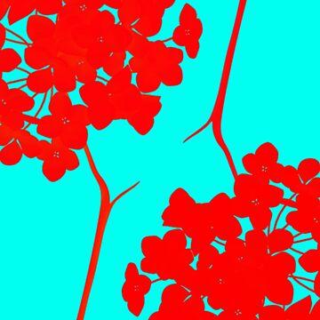 hydrangea shape by clemfloral