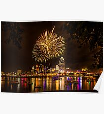 Firework on the River Poster