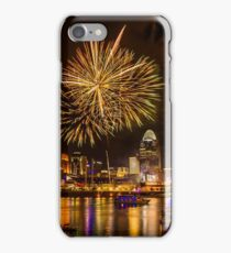 Firework on the River iPhone Case/Skin