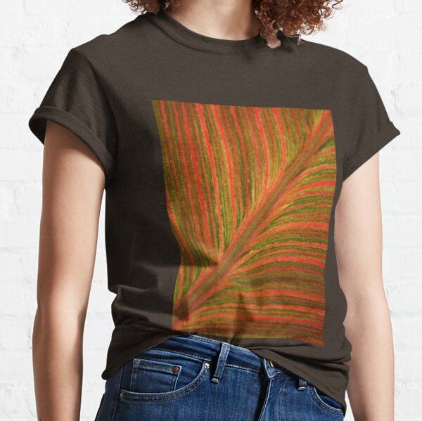 Natural Abstracts - Leaf Pattern Classic T-Shirt