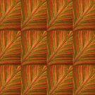 Natural Abstracts - Leaf Pattern by RedHillDigital