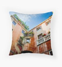 Terracotta Throw Pillow