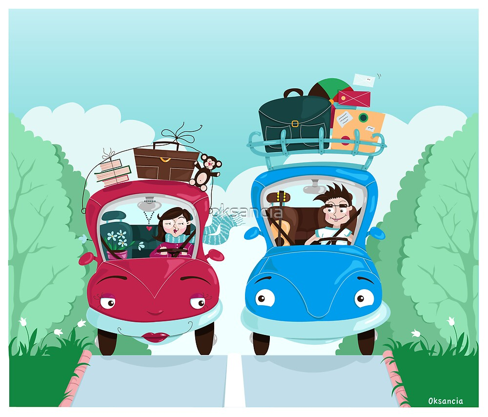 Road Meeting by oksancia