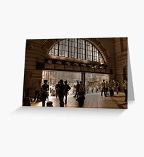 Station to Station  Greeting Card