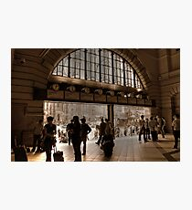 Station to Station  Photographic Print