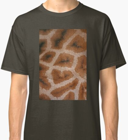 Natural Abstracts - Giraffe Hide Classic T-Shirt