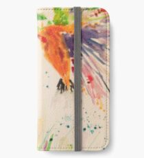 Kingfisher and Foxglove iPhone Wallet/Case/Skin