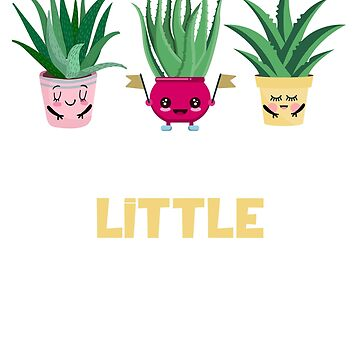 Say Aloe To My Little Friends Funny Gardener  by CheerfulDesigns