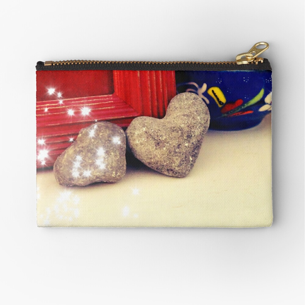 Heart-All we need is love  Zipper Pouch